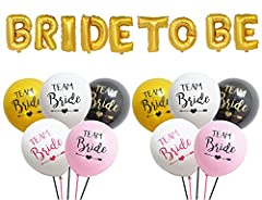 Idea Regalo - InnoBase Bride to be Palloncini Foil eTeam Bride Hen Party Sposa Da Essere Balloons per Addio al Nubilato Bachelorette Festa Party Decorazione