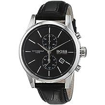 Reloj con mecanismo de cuarzo para hombre Hugo Boss 1513279, cronógrafo y correa de piel.