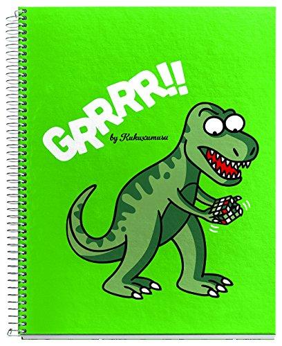 kukuxumusu-2779-notebook-4-colours-a5-120-sheets-squared