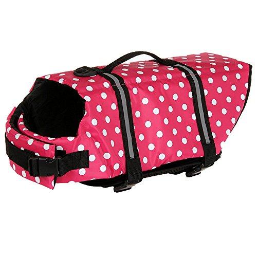 roblue Warndreiecke, Rettung verstellbar Schutz Hunde Schwimmen-BH Rettung für Katze Hund