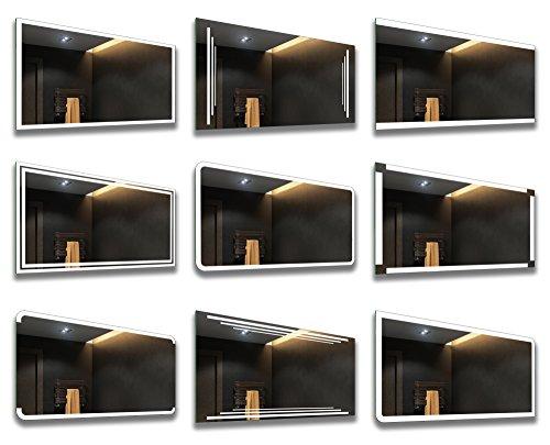 Badezimmer Spiegel – Design Badspiegel mit LED Beleuchtung - 6
