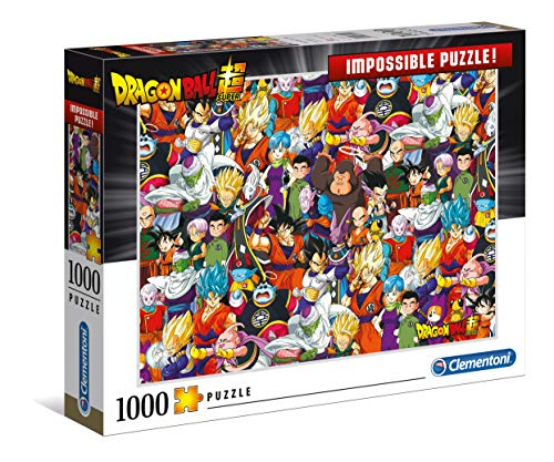 Clementoni Impossible Puzzle-Dragon ball-1000 Unidades, 39489
