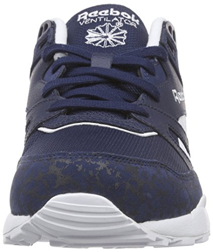Reebok Ventilator IS, Chaussures de Course Homme Blau (Collegiate Navy/White)