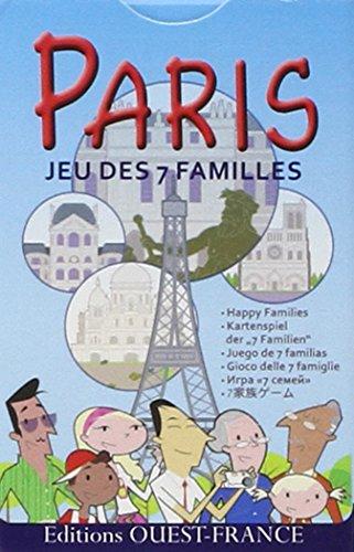 Jeu 7 familles Paris et ses monuments