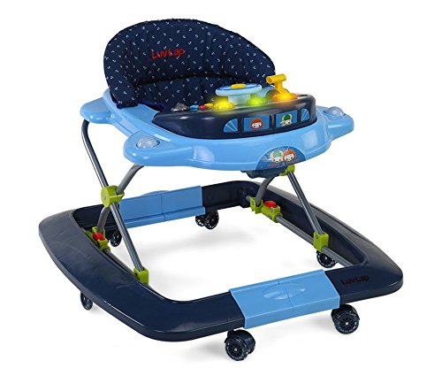 LuvLap Baby Walker Royal Blue