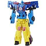 Transformers Robots in Disguise Crash Dec Dragster Wild Break Action Figure (Multi Color)