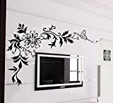 Decals Design 'Floral' Wall Sticker (PVC...