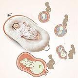 Huwai Portable Baby Bed Multifunktions faltbar Bett Bionic Bett, Weiß