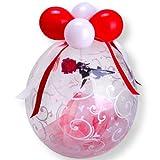 Stuffer-Ballon Rose