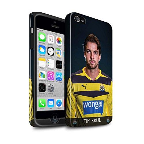 Officiel Newcastle United FC Coque / Brillant Robuste Antichoc Etui pour Apple iPhone 4/4S / Pack 25pcs Design / NUFC Joueur Football 15/16 Collection Krul