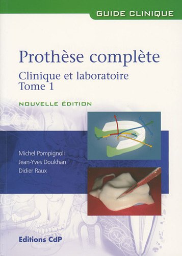 Pack 2 volumes Prothèse complète : Tome 1 et 2