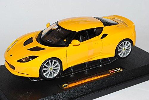 lotus-evora-s-ips-coupe-gelb-1-24-bburago-modell-auto-mit-individiuellem-wunschkennzeichen