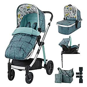 Cosatto Wow I-Size Travel System & Accessories Bundle - Fjord   8