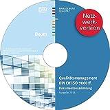 Produkt-Bild: Qualitätsmanagement DIN EN ISO 9000 ff. Dokumentensammlung; Ausgabe 2016 Netzwerkversion. Hrsg.: DIN e.V.