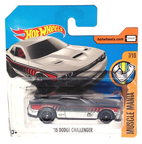 mattel-hot-wheels-sortiment-164-low-card-dty90-2015-dodge-challenger-silber-metallic-mopar-muscle-ma