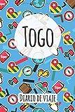 Diario de viaje Togo: Planificador de viajes I Planificador de viajes por carretera I Cuaderno de puntos I Cuaderno de viaje I Diario de bolsillo I Regalo para mochileros I Agenda de viaje
