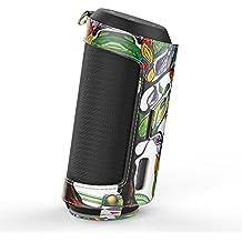 MoKo JBL Flip 2 Funda - Portátil Bluetooth Altavoz Cubierta de Cuero Imitado con Holding Correa y Mosquetón Carrying Cover Case para JBL Flip 2 - Altavoz portáti, Álbo de la Suerte