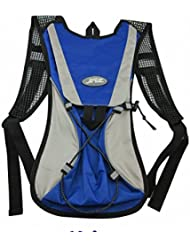 LC Prime® Day Pack Backpack FOR 2L Water Bag Bladder Bag Hydration System Camping BLUE fabric 1