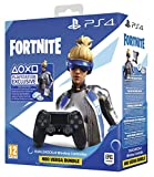 Sony Manette PlayStation 4 Officielle, DUALSHOCK 4, Skin Neo Versa + 500 V-Bucks Fortnite, Sans Fil, Batterie Rechargeable, Bluetooth, Noire