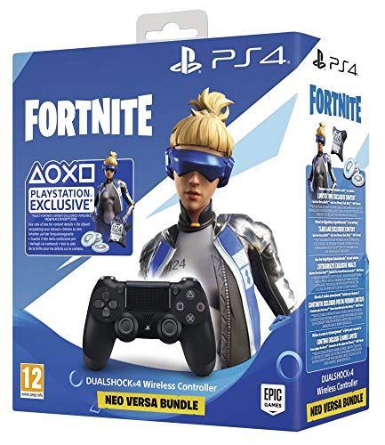PlayStation 4 Dualshock 4 v2 e Fortnite VCH Bundle PlayStation 4 Nero