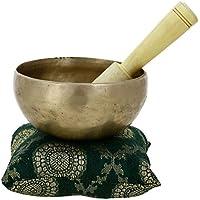 Bouddhiste en laiton Singing Bowl pour la méditation et la guérison de 12,7 CM