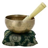 Cuenco de latón budista de meditación y sanación de 12,7 CM - regalos día de la madre