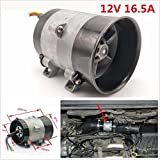 #7: Tradico® Car Auto 12V 16.5A Electric Turbine Turbo Charger Air Intake Turbo Fan Bold Line