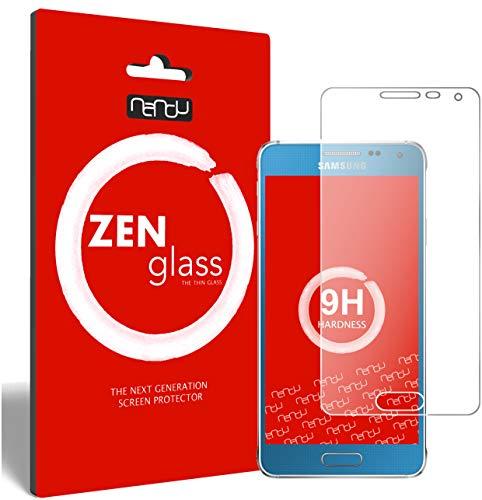 ZenGlass Flexible Glas-Folie für Samsung Galaxy Alpha Panzerfolie I Bildschirm-Schutzfolie 9H