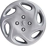 """Lot de 4enjoliveurs roue 14"""" Peugeot 206à partir de 1998 Produit non original"""