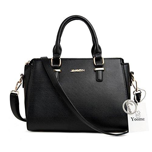 Sacchetti di borsa della traversa di Yoome per il favore del partito Borse della maniglia superiore Borse grandi eleganti per le donne - azzurro Nero