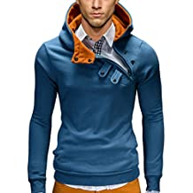 BetterStylz PCOBZ Sweat Hoodie Sudadera Deportiva con Capucha para Hombre div. Colores (S-XXL)