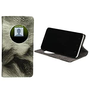 Dsas Flip cover designed for Samsung Galaxy Note 2