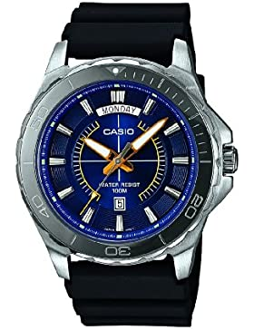 Casio Herren-Armbanduhr Classic collection Analog Quarz Resin MTD-1076-2AVEF