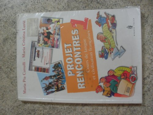 Projet rencontres. Avec cahier-Projet portfolio. Per la Scuola media. Con CD-ROM: 1