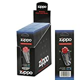 Auténtica Zippo Flint caja de 24x 6