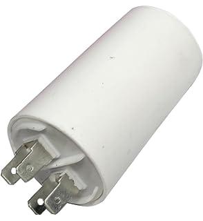 Kondensator Mit Steckfahnen Und Befestigungsschraube Cbb60 16 00µf 450 Volt Küche Haushalt