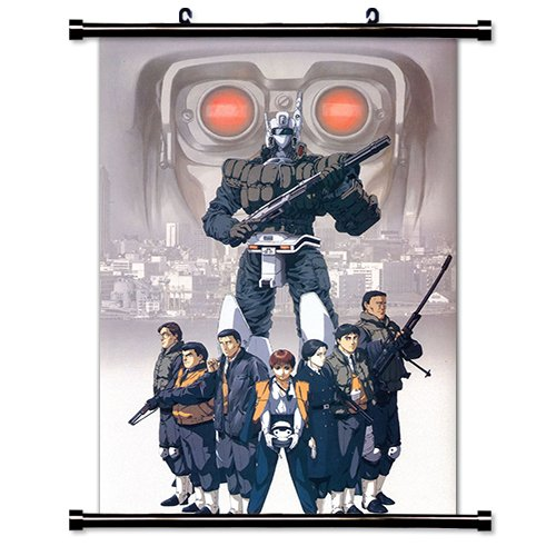 Patlabor Anime Fabric Wall Scroll Poster (16 x 23) Inches