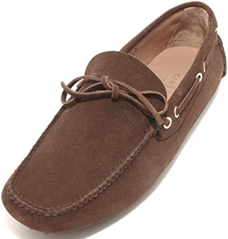 92992 Mocassino Car Shoe Scamosciato Scarpa uomo Loafer Shoes Men