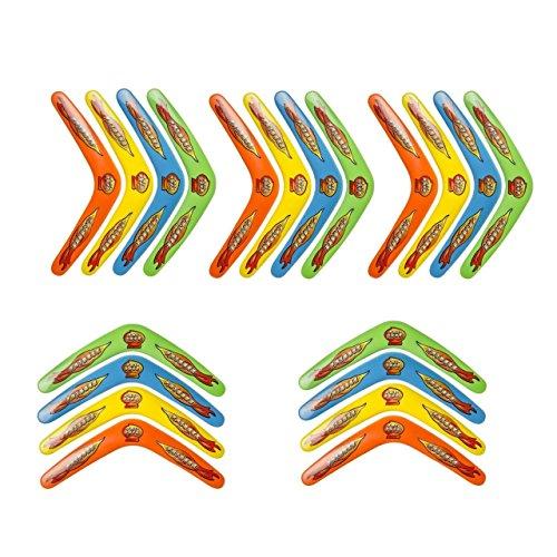 Bumerang Boomerang 30cm 4 Farben Wurfspiel Fangspiel Strand Tombola Spiele Spielzeug & Modellbau (Posten)