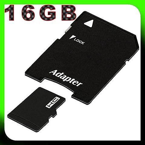 tomaxx 16GB / 16 GB micro SDHC Speicherkarte für Sony