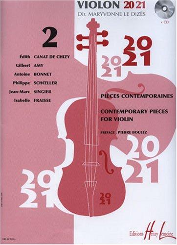 Violon 20-21 Volume 2