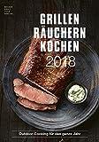 Produkt-Bild: Grillen Räuchern Kochen 2018 - Rezeptkalender (24 x 34) - Küchenkalender - Fleisch - Barbecue - Grillkalender: by Angelo Menta