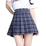 Damen Schulmädchen Tarten Röcke Minirock Skirts