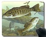 Mauspad-Spiel, Fischthema der einzigartigen Mausunterlage