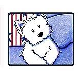 Mauspad für Gaming-Sommer, Rutschfest, Gummi, langlebig, 24,8 x 29,5 cm, Start and Dog4, 9.8 X 11.8 inch