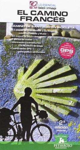 El Camino Francés. Camino De Santiago En Bicicleta - 2ª Edición (Bicimap (petirrojo))