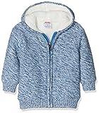 Schnizler Unisex Baby Jacke Strickjacke gefüttert, (Blau 7), 74