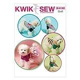 KwikSew Einfaches Schnittmuster 4152Hundemäntel und -Kleidung