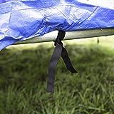 Ultrasport Trampolin Wetterschutzplane Comfort Blau 305 cm - 6