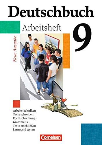 Deutschbuch Gymnasium - Allgemeine Ausgabe: 9. Schuljahr - 6-jährige Sekundarstufe I - Arbeitsheft mit Lösungen
